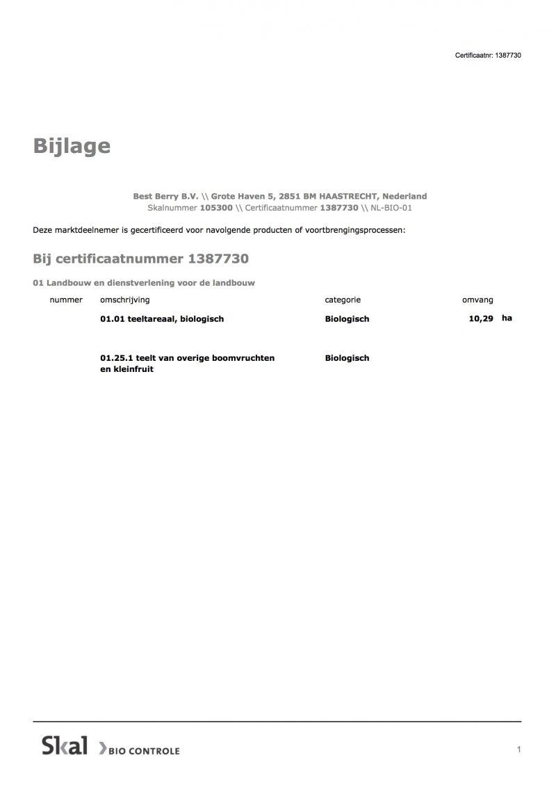Cert Eu Bio Certificaat Enq 1686663 1686667 2